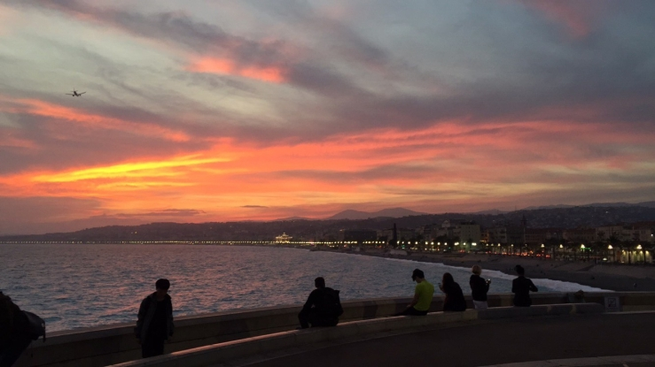 sunset-in-nice