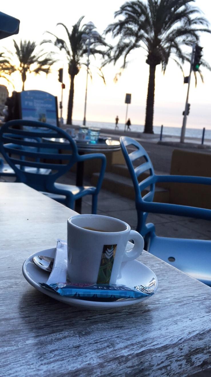 Coffee in Nice