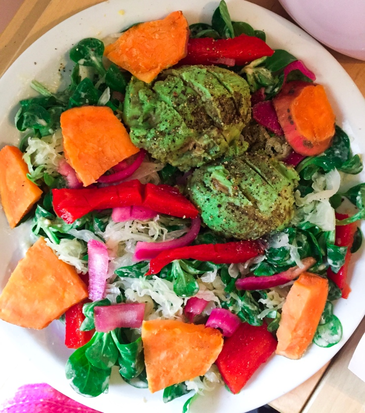 Ultimate Nutrition Vegan Detox Salad